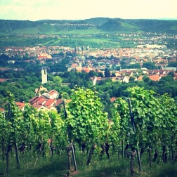 View of Stuttgart from our June scouting trip