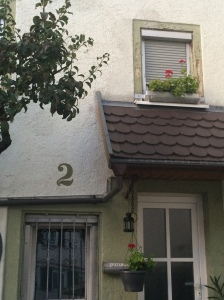 Lovely house on our street in Gerlingen.