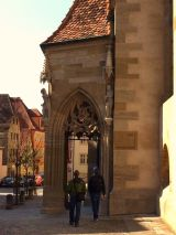Strolling about in Rothenburg