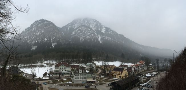 View from Hohenschwangau Castle