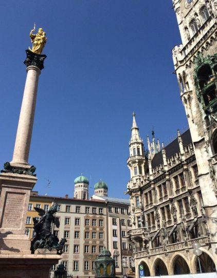 Marienplatz, Munich.
