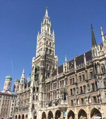 St. Peter's Church, Marienplatz. Munich.